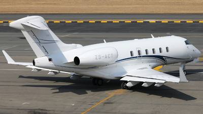 ZS-ACT - Bombardier BD-100-1A10 Challenger 300 - Private