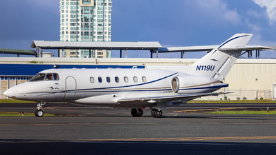 N119U  - Raytheon Hawker 1000 - Private