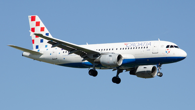 A picture of 9ACTH - Airbus A319112 - Croatia Airlines - © Paul Stam