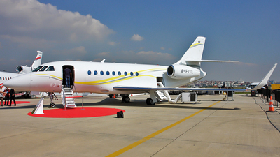 M-FIVE - Dassault Falcon 2000LX - Private