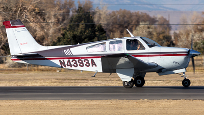 N4393A - Beechcraft F33A Bonanza - Private