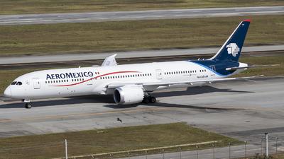 A picture of N438AM - Boeing 7879 Dreamliner - Aeromexico - © Rafael Ferreira