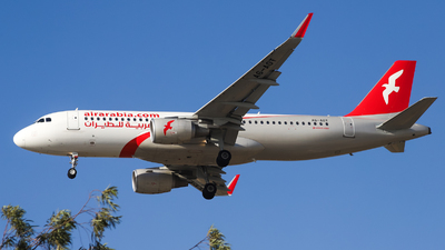 A picture of A6AOT - Airbus A320214 - Air Arabia - © Shajie Hussain