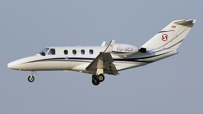 YU-SCJ - Cessna 525 Citationjet CJ1 - Prince Aviation