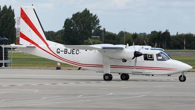 G-BJEC - Britten-Norman BN-2T Turbine Islander - Gama Aviation