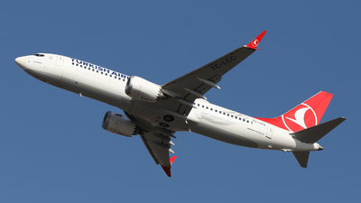 A picture of TCLCC - Boeing 737 MAX 8 - Turkish Airlines - © László Kurilla