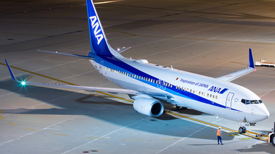 JA71AN - Boeing 737-881 - All Nippon Airways (ANA)