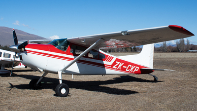 ZK-CKP - Cessna 185D Skywagon - Private