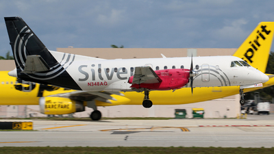 N348AG - Saab 340B+ - Silver Airways