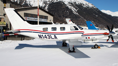 N143LA - Piper PA-46-350P Malibu Mirage/Jetprop DLX - Private