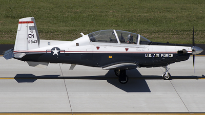 06-3843 - Hawker Beechcraft T-6A Texan II - United States - US Air Force (USAF)