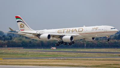 A6-EHB - Airbus A340-541 - Etihad Airways