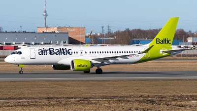A picture of YLCSF - Airbus A220300 - Air Baltic - © Jevgeni Ivanov