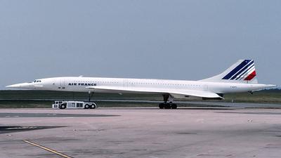 F-BVFC - Aérospatiale/British Aircraft Corporation Concorde - Air France