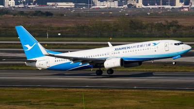 A picture of B5435 - Boeing 73786N - Xiamen Air - © ZUCKGYQ