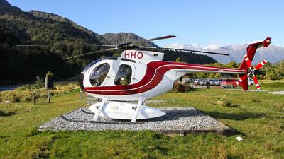 ZK-HHO - Hughes 369D - Fox & Franz Heli Services