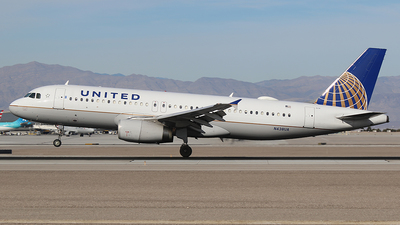 A picture of N438UA - Airbus A320232 - United Airlines - © Joshua Ruppert