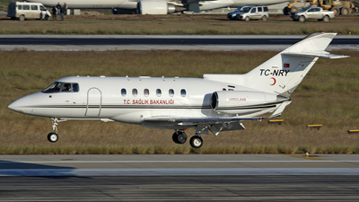 TC-NRY - Raytheon Hawker 900XP - Turkey - Ministry of Health