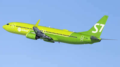 A picture of VPBLE - Boeing 7378Q8 - S7 Airlines - © Faustasyan