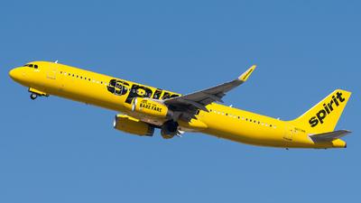 N673NK - Airbus A321-231 - Spirit Airlines