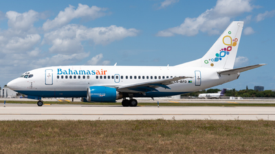 A picture of C6BFD - Boeing 7375H6 - Bahamasair - © Evan Dougherty