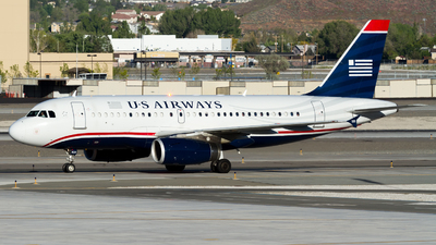 N823AW - Airbus A319-132 - US Airways