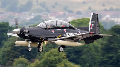 N2857B - Raytheon T-6C Texan II - Raytheon Aircraft