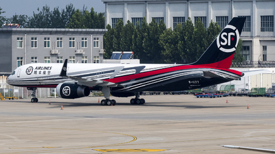 A picture of B1177 - Boeing 757223(PCF) - SF Airlines - © Charles-Yixin Yin