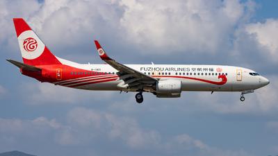 B-1905 - Boeing 737-86J - Fuzhou Airlines