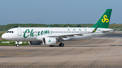 A picture of B324G - Airbus A320251N - Spring Airlines - © Janson Button