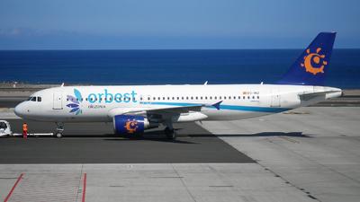 EC-INZ - Airbus A320-214 - Orbest Orizonia Airlines