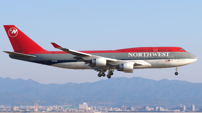 N670US - Boeing 747-451 - Northwest Airlines