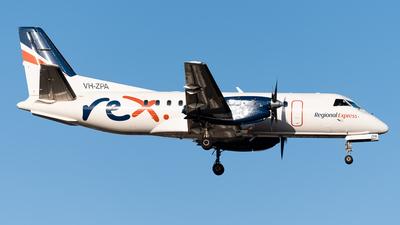 VH-ZPA - Saab 340B+ - Regional Express (REX)