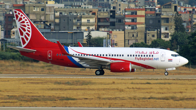 A picture of YIAQL - Boeing 7377BD - Fly Baghdad - © Peter Kesternich