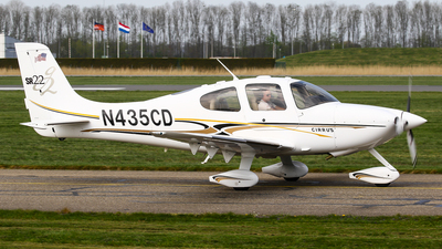 N435CD - Cirrus SR22-G2 - Private