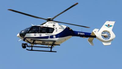 31001 - Eurocopter EC 135T2i - China - Shanghai Municipal Public Security Bureau Police Aviation Force