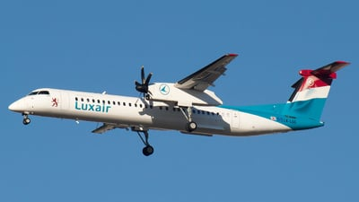 LX-LGG - Bombardier Dash 8-Q402 - Luxair - Luxembourg Airlines