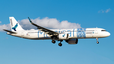 CS-TSH - Airbus A321-253NX - Azores Airlines