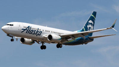 A picture of N583AS - Boeing 737890 - Alaska Airlines - © Alejandro Hndez