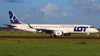 SP-LNE - Embraer 190-200LR - LOT Polish Airlines