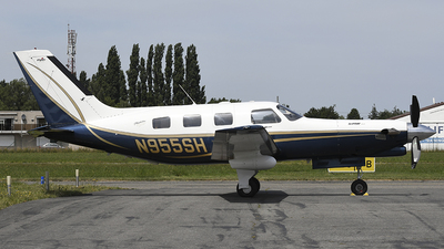N955SH - Piper PA-46-350P Malibu Mirage/Jetprop DLX - Private