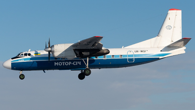 A picture of URMSI - Antonov An24RV - Motor Sich Airlines - © ukbb.planespotter