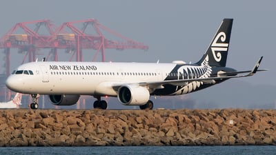 ZK-NNE - Airbus A321-271NX - Air New Zealand