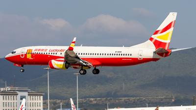 A picture of B6015 - Boeing 73784P - Lucky Air - © Yan Shuai