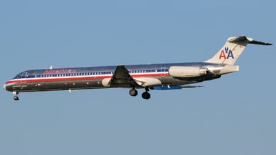 N961TW - McDonnell Douglas MD-83 - American Airlines
