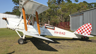 VH-DAD - De Havilland DH-82A Tiger Moth - Private