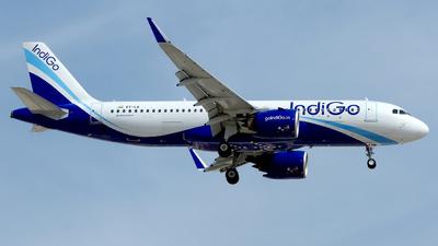 A picture of VTIJI - Airbus A320271N - IndiGo - © M. Azizul Islam