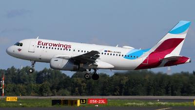 A picture of DAGWD - Airbus A319132 - Eurowings - © Darius Swoboda