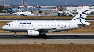 SX-DGF - Airbus A319-132 - Aegean Airlines