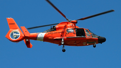6508 - Aérospatiale MH-65D Dolphin - United States - US Coast Guard (USCG)